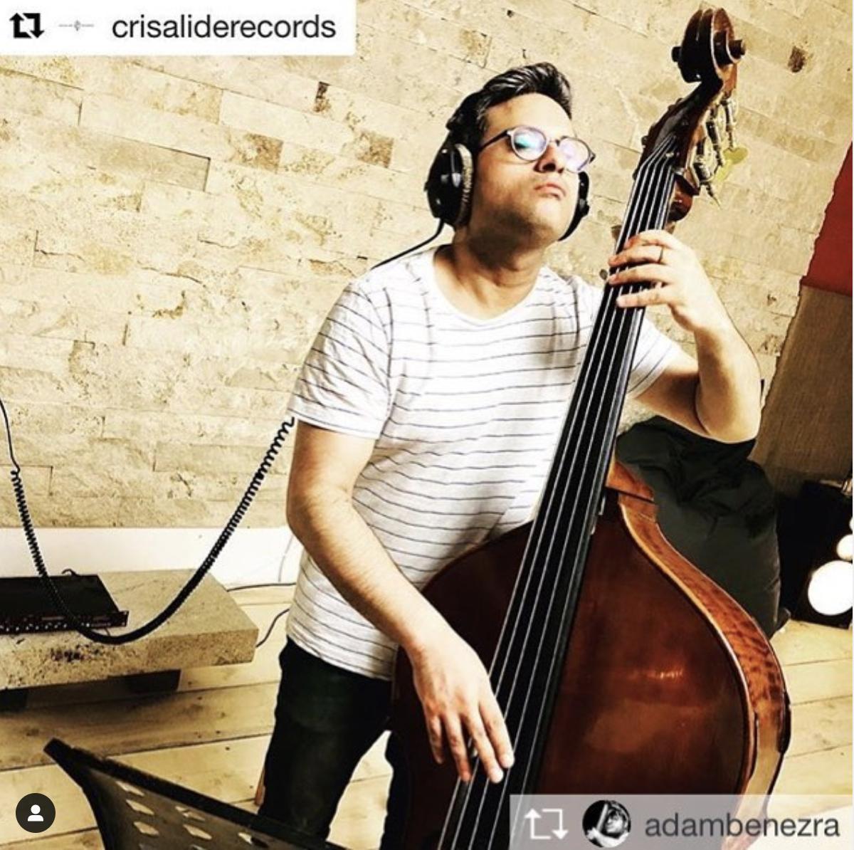 Adam Ben Ezra -UprightBass-LOADrecordingstudio